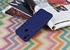 HTC Desire 10 Pro Mat Dark Blue Silikon Kılıf - Resim 2