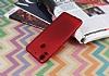 HTC Desire 10 Pro Mat Kırmızı Silikon Kılıf - Resim 2