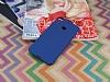 HTC Desire 10 Pro Tam Kenar Koruma Lacivert Rubber Kılıf - Resim 1