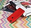 HTC Desire 12 Plus Mat Kırmızı Silikon Kılıf - Resim 2