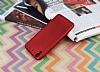 HTC Desire 626 Mat Kırmızı Silikon Kılıf - Resim 2