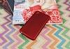 HTC Desire 626 Mat Kırmızı Silikon Kılıf - Resim 1