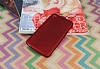 HTC Desire 820 Mat Kırmızı Silikon Kılıf - Resim 2