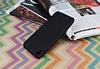 HTC Desire 820 Mat Siyah Silikon Kılıf - Resim 1
