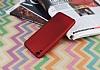HTC Desire 820 Mat Kırmızı Silikon Kılıf - Resim 1
