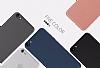 HTC Desire 820 Şeffaf Beyaz Silikon Kılıf - Resim 2