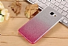 HTC Desire 820 Simli Pembe Silikon Kılıf - Resim 3