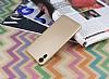 HTC Desire 825 / Desire 10 Lifestyle Tam Kenar Koruma Gold Rubber Kılıf - Resim 2