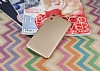 HTC Desire 825 / Desire 10 Lifestyle Tam Kenar Koruma Gold Rubber Kılıf - Resim 1