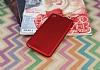 HTC Desire 826 Mat Kırmızı Silikon Kılıf - Resim 1
