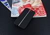 HTC One A9 Kadife Dokulu Siyah Silikon Kılıf - Resim 1