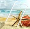 HTC One E9 Plus Şeffaf Kristal Kılıf - Resim 1