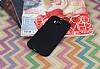 HTC One M8 Mat Siyah Silikon Kılıf - Resim 1