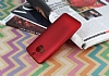 HTC One M9 Plus Mat Kırmızı Silikon Kılıf - Resim 2