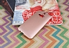 HTC One M9 Plus Mat Rose Gold Silikon Kılıf - Resim 1