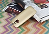 HTC One M9 Plus Mat Gold Silikon Kılıf - Resim 2