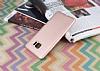 HTC U Ultra Mat Rose Gold Silikon Kılıf - Resim 2