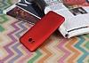 HTC U11 Mat Kırmızı Silikon Kılıf - Resim 2