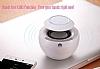 Huawei AM08 Orjinal Beyaz Bluetooth Hoparlör - Resim 5