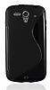 Huawei Ascend G301 Desenli Siyah Silikon Kılıf