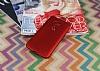Huawei G8 Mat Kırmızı Silikon Kılıf - Resim 1