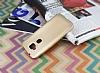 Huawei G8 Mat Gold Silikon Kılıf - Resim 2