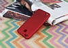 Huawei GR3 Mat Kırmızı Silikon Kılıf - Resim 1