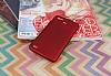 Huawei GR3 Mat Kırmızı Silikon Kılıf - Resim 2