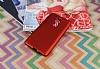 Huawei GR5 2017 Mat Kırmızı Silikon Kılıf - Resim 1