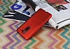 Huawei GR5 2017 Mat Kırmızı Silikon Kılıf - Resim 2