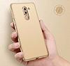 Huawei GR5 2017 Tam Kenar Koruma Kırmızı Rubber Kılıf - Resim 2