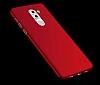 Huawei GR5 2017 Tam Kenar Koruma Kırmızı Rubber Kılıf - Resim 4