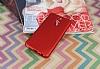 Huawei Mate 10 Lite Mat Kırmızı Silikon Kılıf - Resim 1