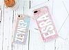 Huawei Mate 10 Lite Simli Sulu Parfüm Resimli Pembe Silikon Kılıf - Resim 1