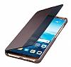 Huawei Mate 10 Pro Orijinal Uyku Modlu Kahverengi Kapaklı Kılıf - Resim 1