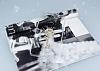 Huawei Mate 9 Taşlı Anahtar Şeffaf Silikon Kılıf - Resim 1