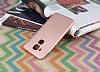 Huawei Nova Plus Mat Rose Gold Silikon Kılıf - Resim 1