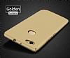 Huawei Nova Tam Kenar Koruma Gold Rubber Kılıf - Resim 6