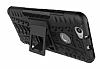 Huawei Nova Ultra Süper Koruma Standlı Siyah Kılıf - Resim 5