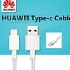 Huawei Orjinal USB Type-C Beyaz Data Kablosu 1m - Resim 2