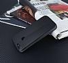 Huawei P Smart Curve Manyetik Kapaklı Siyah Deri Kılıf - Resim 4