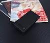 Huawei P Smart Gizli Mıknatıslı Yan Kapaklı Siyah Deri Kılıf - Resim 2