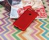 Huawei P Smart Mat Kırmızı Silikon Kılıf - Resim 2