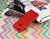 Huawei P Smart Mat Kırmızı Silikon Kılıf - Resim 1