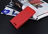 Huawei P10 Gizli Mıknatıslı Pencereli Kırmızı Deri Kılıf - Resim 2