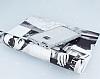 Huawei P10 Lite Taşlı Kenarlı Simli Silver Silikon Kılıf - Resim 1