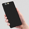 Huawei P10 Mat Siyah Silikon Kılıf - Resim 2
