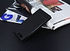 Huawei P10 Plus Gizli Mıknatıslı Pencereli Siyah Deri Kılıf - Resim 2