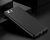 Huawei P10 Plus Mat Siyah Silikon Kılıf - Resim 1