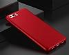 Huawei P10 Plus Mat Kırmızı Silikon Kılıf - Resim 6